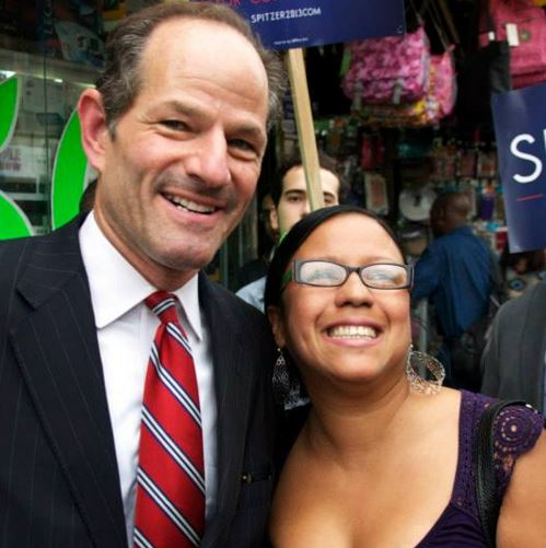 who is spitzer dating