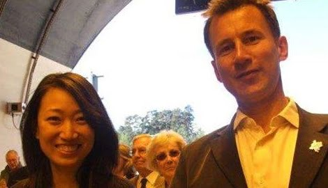 Lucia Hunt British Politician Jeremy hunt's Wife