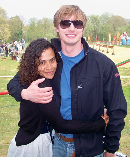 Bradley James Girlfriend Angel Coulby Who is Damien&#...