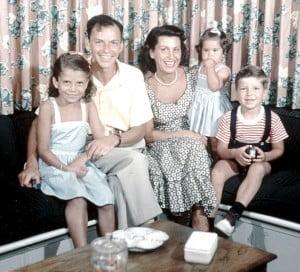 Frank sinatra jr family