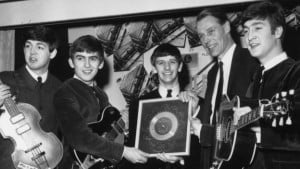 George Martin the beatles pic