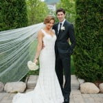 Ginger zee Ben Aaron wedding pic