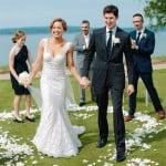 Ginger zee Ben Aaron wedding pics