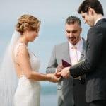 Ginger zee Ben Aaron wedding-pics