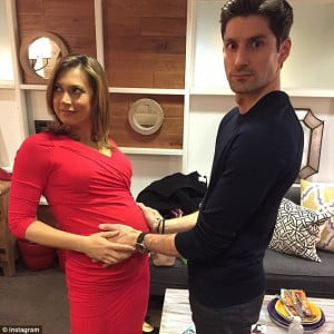 Ginger zee husband Ben Aaron pic