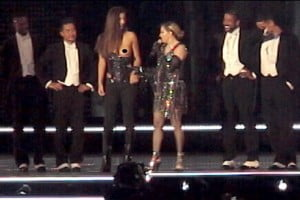 Josephine Georgiou Madonna concert image