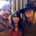 Keith Emerson girlfriend Mari Kawaguchi-pics