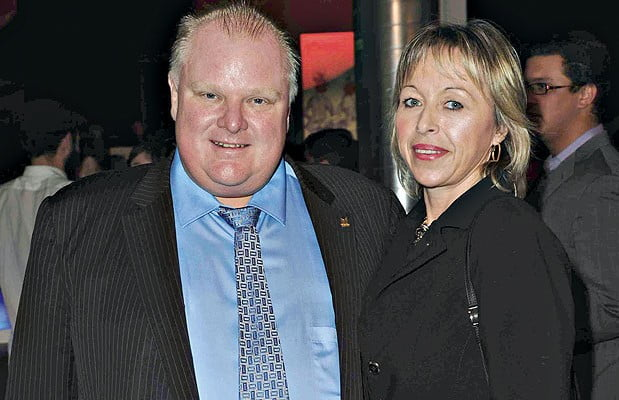 Rob Ford wife Renata Ford