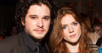 Kit Harington's Girlfriend Rose Leslie