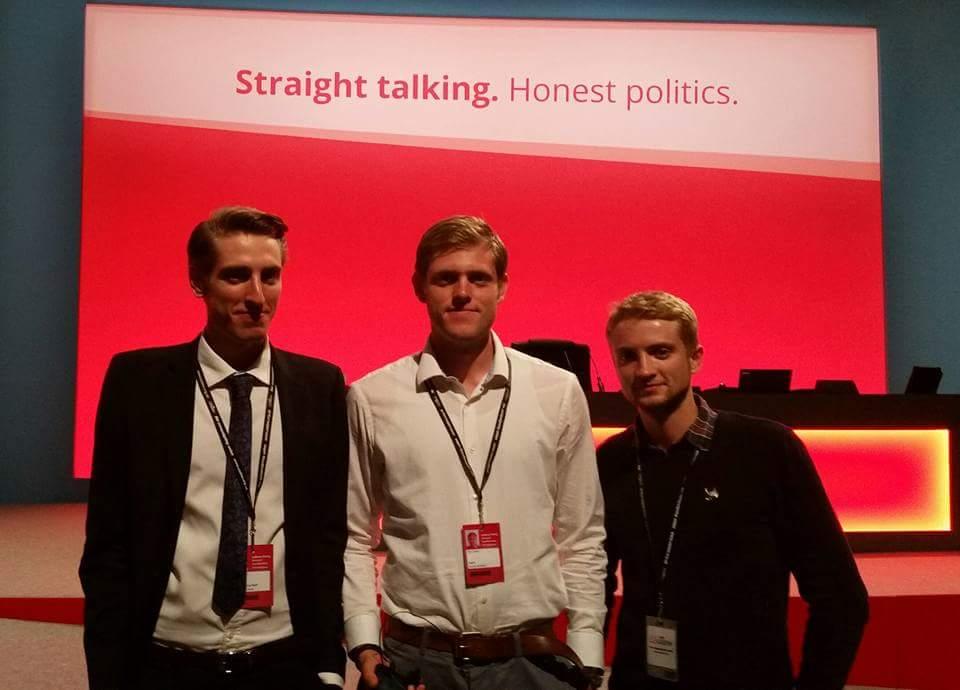 Jeremy Corbyn sons photo