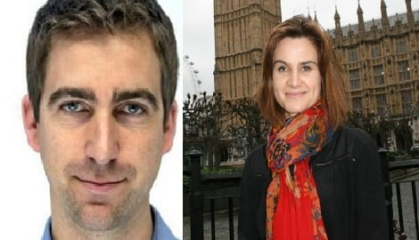 Brendan Cox Labour MP Jo Cox's Husband