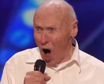 John Hetlinger Elderly America's Got Talent Contestant