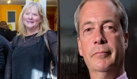 Kirsten Farage UK Nigel Farage's Wife