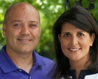 Michael Haley Gov. Nikki Haley's Husband