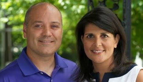 Michael Haley Gop Gov. Nikki Haley's Husband