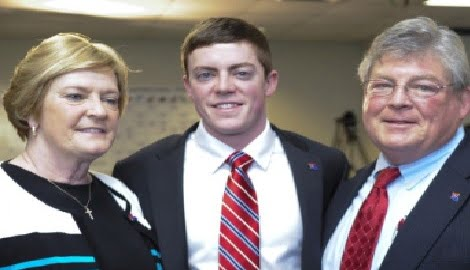 Pat Summitt's Husband R.B. Summitt and son Tyler Summitt
