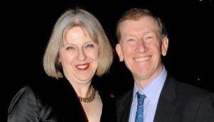 Philip John May Theresa May's Husband