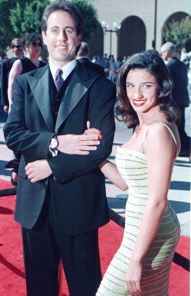 Jerry Seinfeld and  Shoshanna Lonstein Gruss