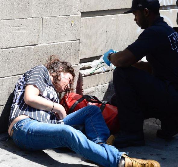 Photos Multiple K2 Overdose Cases Hit Brooklyn