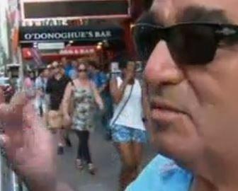 Francisco Vistoso Chilean Tourist attacked in Times Square