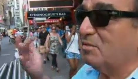Francisco Vistoso Chilean Tourist attacked in Times Square