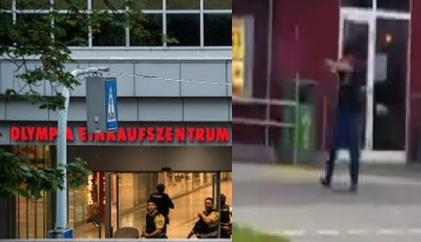 VIDEO: Footage of Munich Shopping Center Shooting Revealed