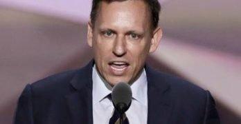 Who is Peter Thiel's boyfriend?