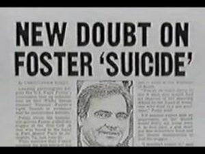 Vince Foster suicide pic