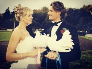 gleb_savchenko_wife_elena_samodanova_wedding