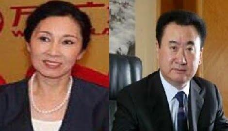 Lin Ning China Billionaire Wang Jianlin's Wife
