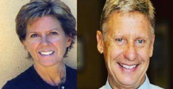 Kate Prusack Libertarian Gary Johnson's Partner