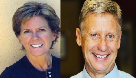 Kate Prusack Libertarian Gary Johnson's Partner