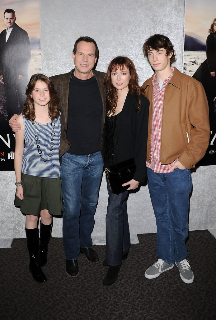 Bill Paxton, his wife Louis Newbury and children, Lydia(daughter) and James(son)