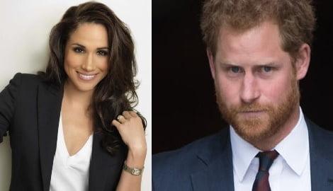 Meghan Markle Prince Harry's actress crush