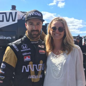 James Hinchcliffe's Girlfriend Rebecca Becky Dalton