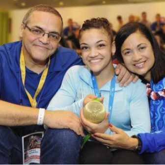 Laurie Hernandez' Parents Anthony & Wanda Hernandez