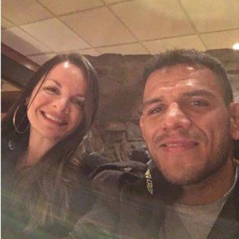 UFC Fighter Rafael dos Anjos' wife Cristiane dos Anjos
