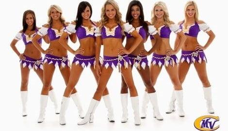 Top 10 Minnesota Vikings Wags