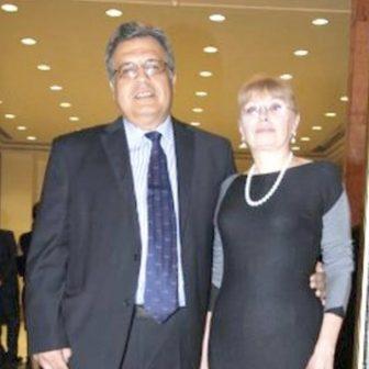 Marina Davydova Karlova Russian Ambassador Andrei Karlov's Wife