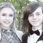 Brianna Maphis The Walking Dead Chandler Riggs' girlfriend