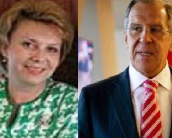 Maria Lavrova Russia Sergei Lavrov's wife