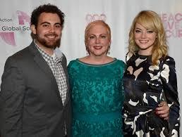 Emma Stone Spencer Stone family