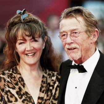 Anwen Rees-Myers John Hurt's Wife