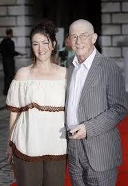 John Hurt wife Anwen Rees-Myers pic