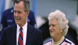 George Bush's Wife Barbara Bush & Children