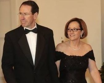 Lenise Stephenson AT&T CEO Randall Stephenson's Wife