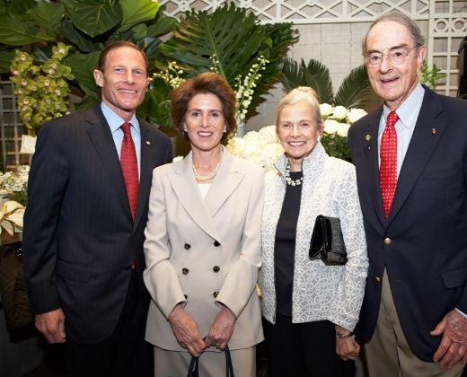 Sen. Richard Blumenthal's Wife Cynthia Malkin
