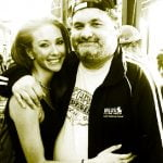 Adrienne Ockrymiek Comedian Artie Lange's Girlfriend