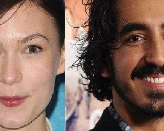 Dev Patel passionately kisses his new girlfriend Tilda Cobham Hervey