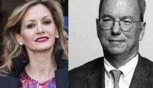Ulla Parker former CEO Eric Schmidt's girlfriend
